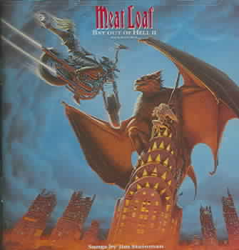 BAT OUT OF HELL 2: BACK INTO HELL BY MEAT LOAF (CD)